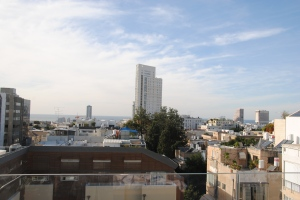 Tel Aviv changing skyline